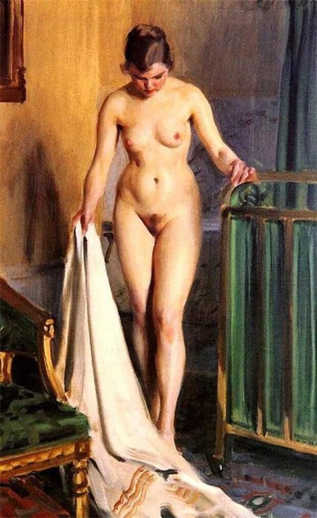 Обнаженная натура в живописи