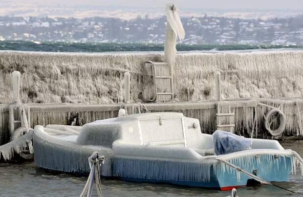 frozen10 Самые красивые фотографии морозной зимы
