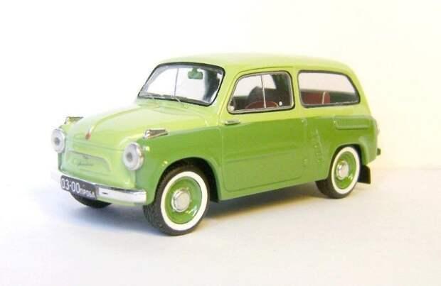ЗАЗ-965 Шутинг-брейк авто, автодизайн, газ, запорожец, моделизм, модель, москвич, советские автомобили