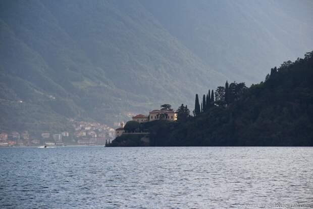 Тихий и безлюдный городок Ленно на озере Комо