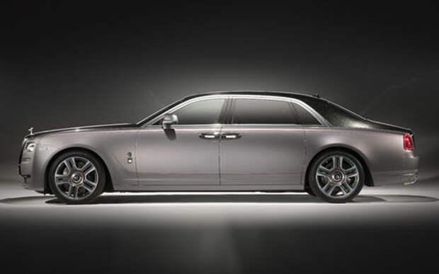 Бриллиантовый дым: Rolls-Royce начал подмешивать в краску драгоценные камни