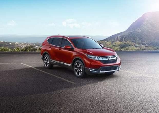 Новая Honda CR-V засобиралась в Россию