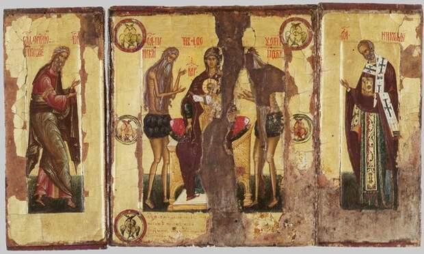 22 июля - Колочская и Кипрская чудотворные иконы Божией Матери.
