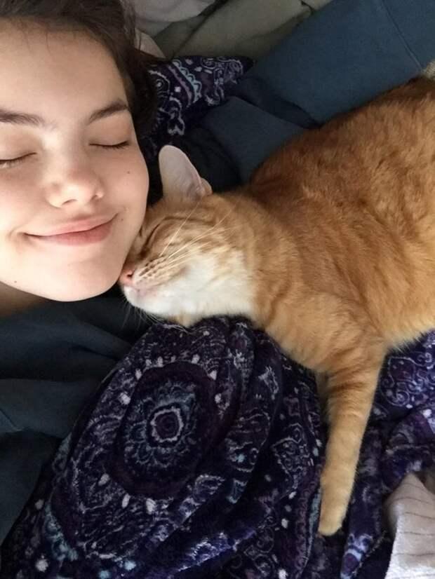 Оказывается, кошки совсем не эгоистичные вредины
