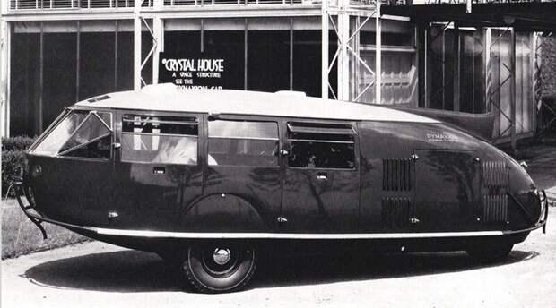 Третий Dymaxion, принадлежавший известному дирижеру Стоковскому. 1934 год авто, автомобили, атодизайн, дизайн, интересный автомобили, олдтаймер, ретро авто, фургон