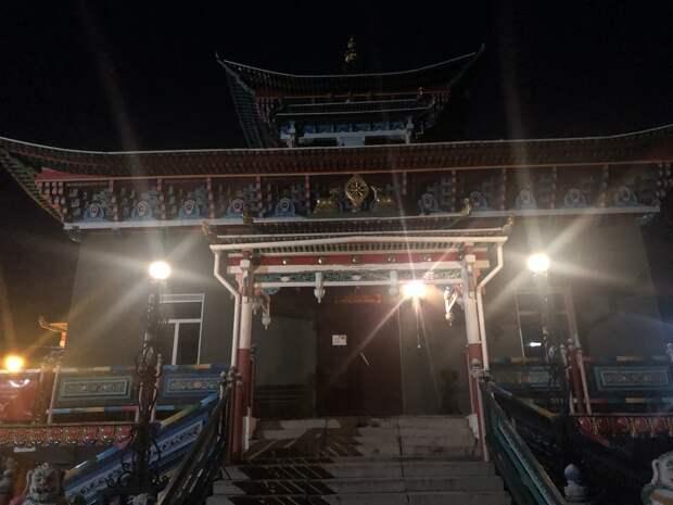 Храм Драгоценного Нетленного Тела Хамбо Ламы Этигэлова, 5 октября 2020 года, 06.03.