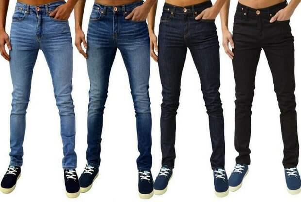 Слишком узкие джинсы.