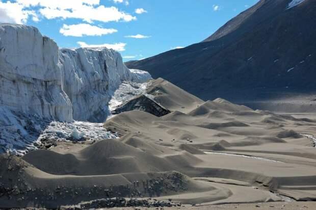 Сухие долины в Антарктике