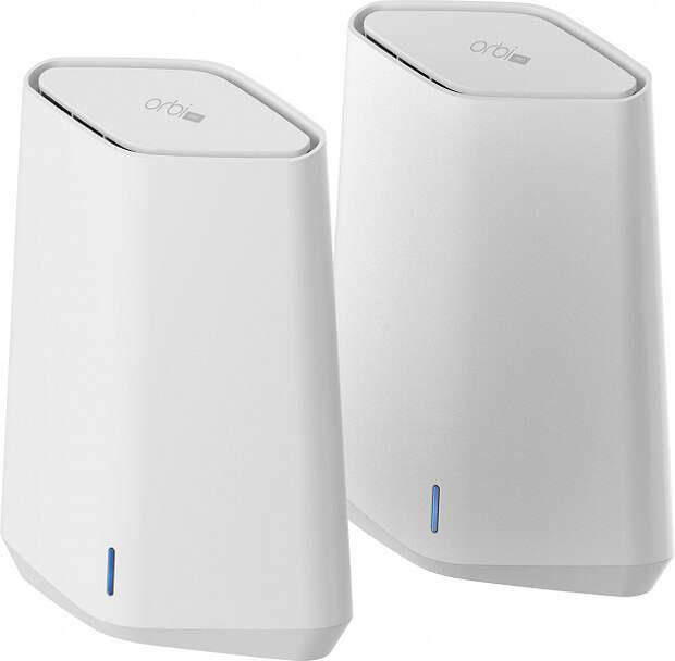 Комплекты Netgear Orbi Pro WiFi 6 Mini позволяет быстро развернуть ячеистую сеть домашнем или небольшом офисе