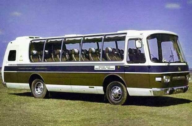 ПАЗ-Турист-Люкс 8,5 автобусы, история, это интересно