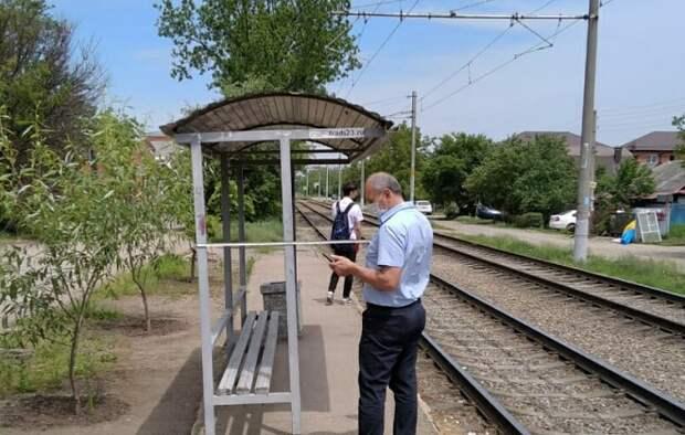 В Краснодаре уберут четыре трамвайные остановки