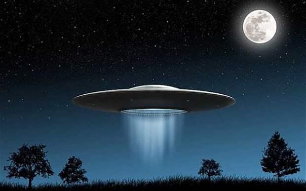 Иногда НЛО - реальность.