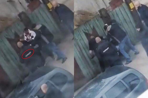«Они его убьют»: МВД проверит полицейского, наблюдавшего замассовой дракой