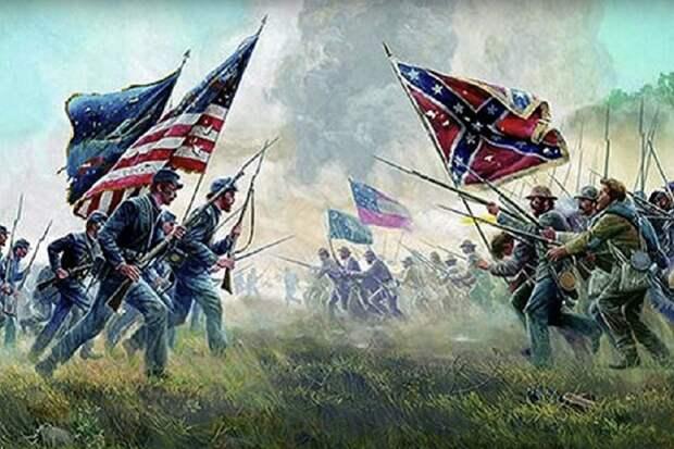 Гражданская война в США и вмешательство русских