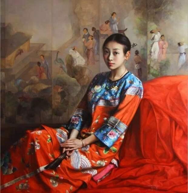 Мастер современного реалистического направления. Zhao Kailin