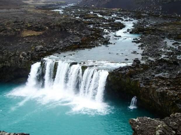 waterfalls36 Красоты водопадов Исландии в фотографиях