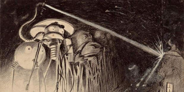 Иллюстрации к «Войне миров», 1906 год