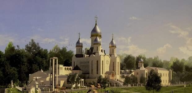 Музей с панорамой Куликовской битвы появится в храме в честь Дмитрия Донского