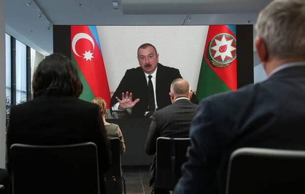 Президент Азербайджана Ильхам Алиев Валерий Шарифулин/ТАСС