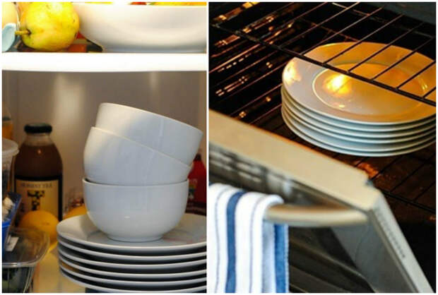 Температура посуды.