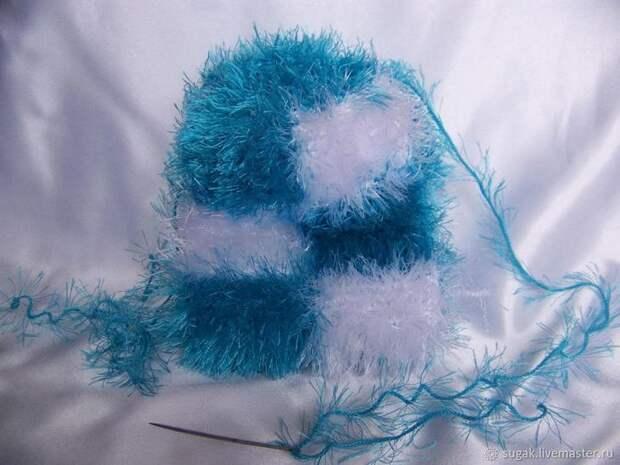 Вяжем кошелёк с фермуаром «Танцующие облака», фото № 11