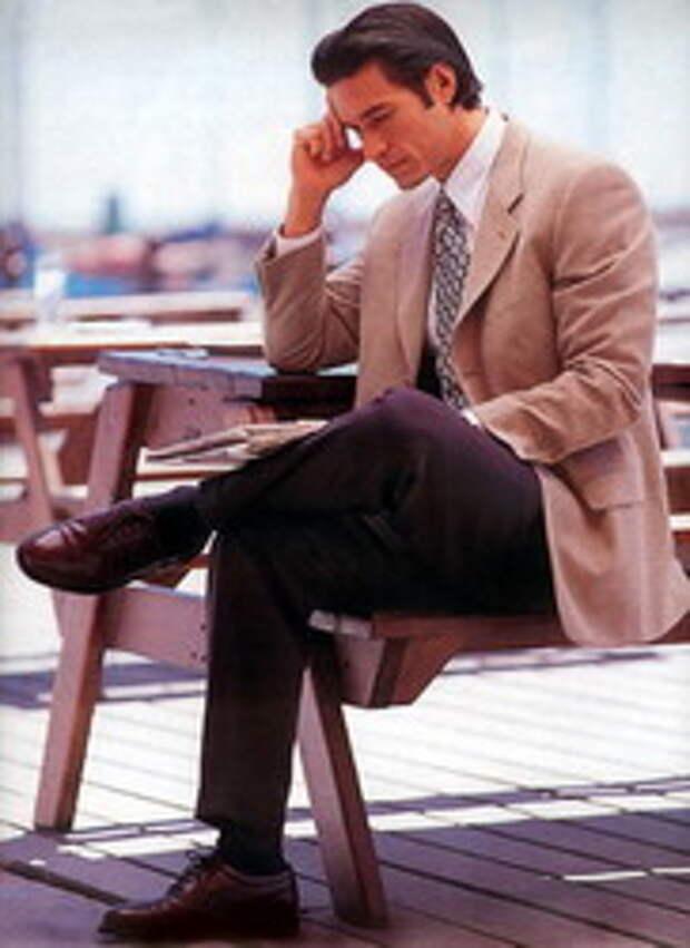 мужской костюм модные основы