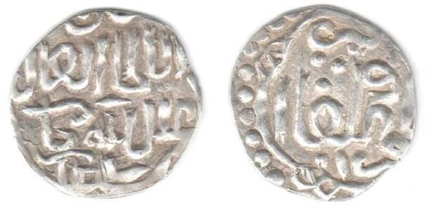 Неджучидские имена на джучидских серебряных монетах XV века
