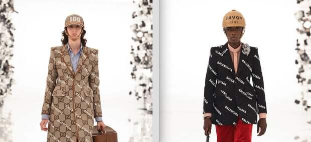 Это невозможно представить: как выглядит новая коллаборация Gucci и Balenciaga