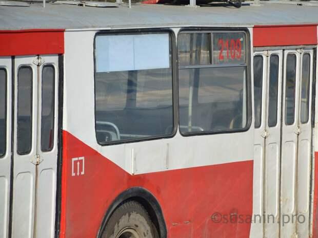Троллейбус №6 в Ижевске начнет ходить по выходным