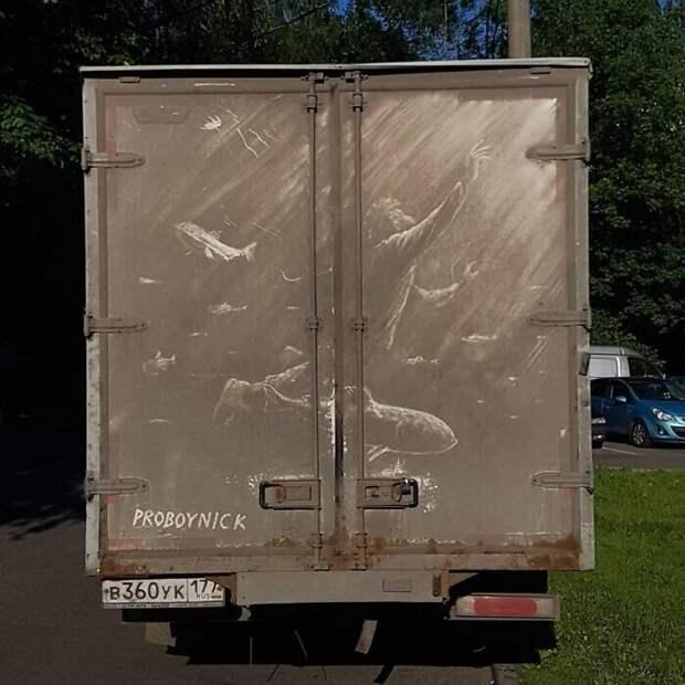 35 крутых рисунков нагрязных грузовиках отхудожника Никиты Голубева ака Pro Boy Nick