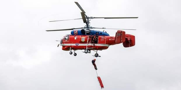 Специалисты Московского авиацентра за полгода спасли 287 человек
