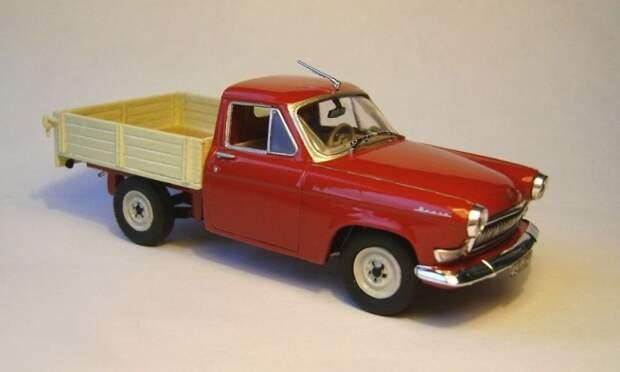 ГАЗ-21 пикап авто, автодизайн, газ, запорожец, моделизм, модель, москвич, советские автомобили