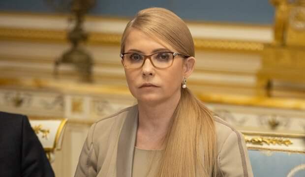 Юлии Тимошенко делают искусственную вентиляцию легких