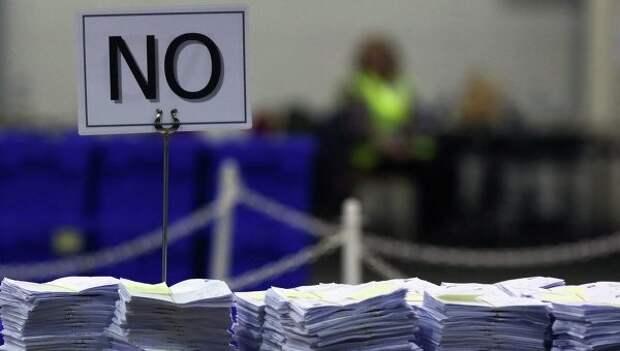 Тысячи шотландцев требуют пересмотреть результаты референдума
