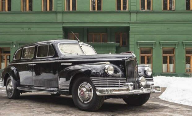 Самая дорогая машина СССР: бронелимузин Сталина