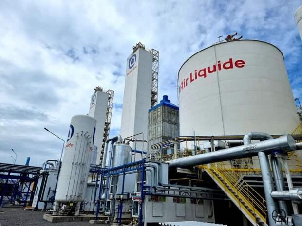 В Кузбассе открыто новое производство компании «Air Liquide» на площадке ЕВРАЗ ЗСМК
