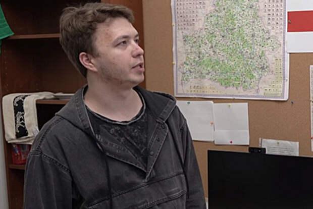 Протасевич на допросе заявил, что его подставили