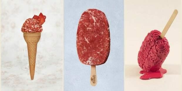 Ученые изБеларуси создали мороженое совкусом мяса