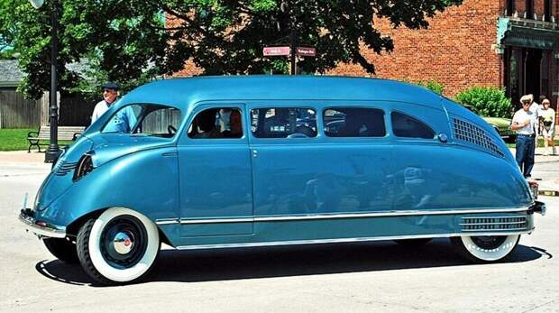 Одна из самых невероятных легковушек всех времен — уникальный вагончик Scarab образца 1936 года авто, автомобили, атодизайн, дизайн, интересный автомобили, олдтаймер, ретро авто, фургон
