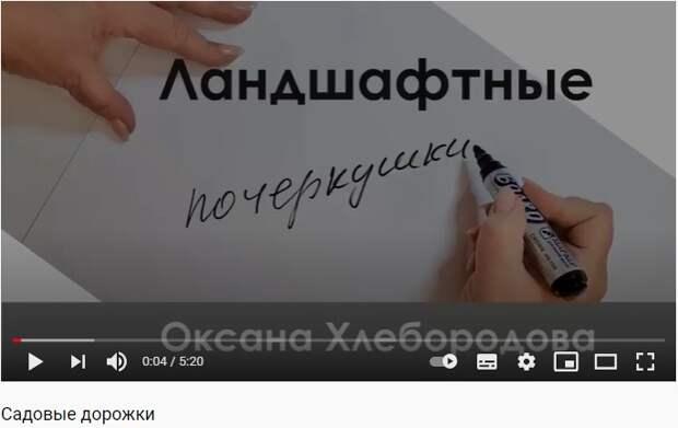 В Бабушкинском парке записали видеолекцию про обустройство садовых дорожек