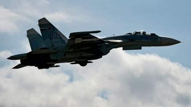 Су-27 перехватил самолёты ВВС США, Дании и Швеции над Балтийским морем