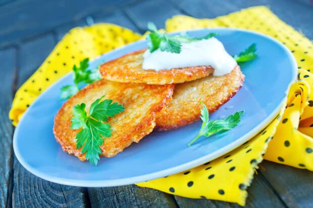 Картофельные оладьи с сыром вкусно, интересное, картофель, полезно, рецепт