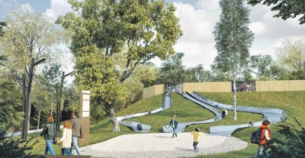 Протяженность нового парка вдоль Яузы составит 16 километров