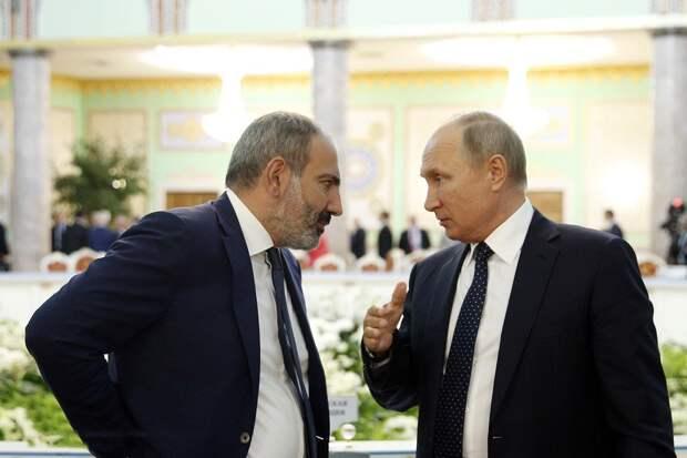 Армения обратилась к России за военной помощью