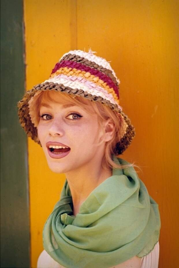 Французская актриса Эстелла Блен