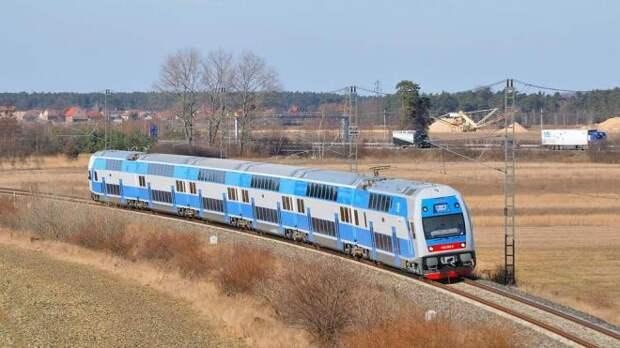 C 4 ноября «Укрзализныця» запустит двухэтажный поезд