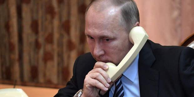 Глава Евросовета поговорил с Путиным про Навального