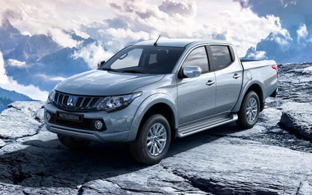 Mitsubishi огласила рублевые цены на обновленный пикап L200