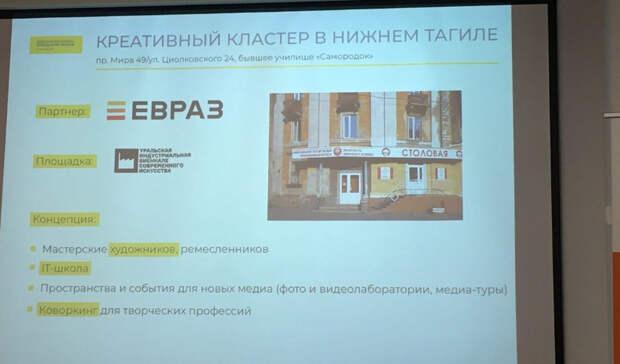 Вице-президент ЕВРАЗа рассказал о проектах для молодежи в Тагиле. Но не об экологии