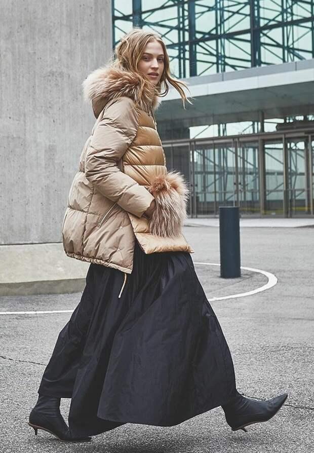 Женские пуховики зима 2021/2022. Тренды. Актуальные модели для холода